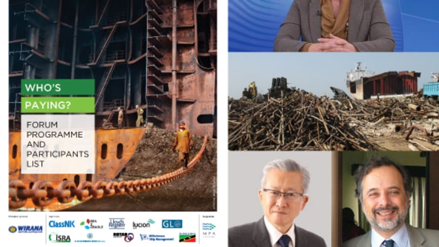 Shipowners' role in recycling under spotlight