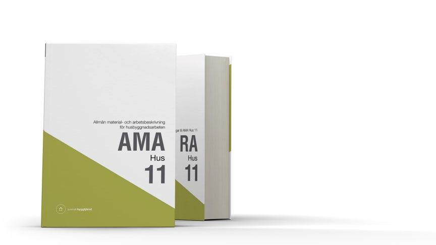Nya AMA Hus 11 och RA Hus 11 - fullspäckade med nyheter