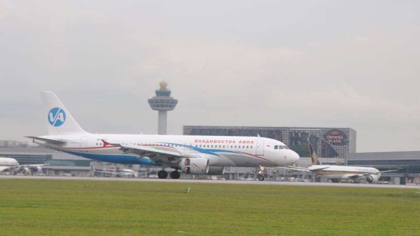 Vladivostok Air connects Singapore to the Russian Far East
