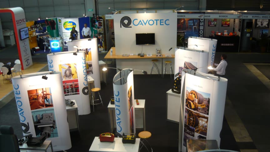 Cavotec Australia review and thanks following recent AIMEX show #mining