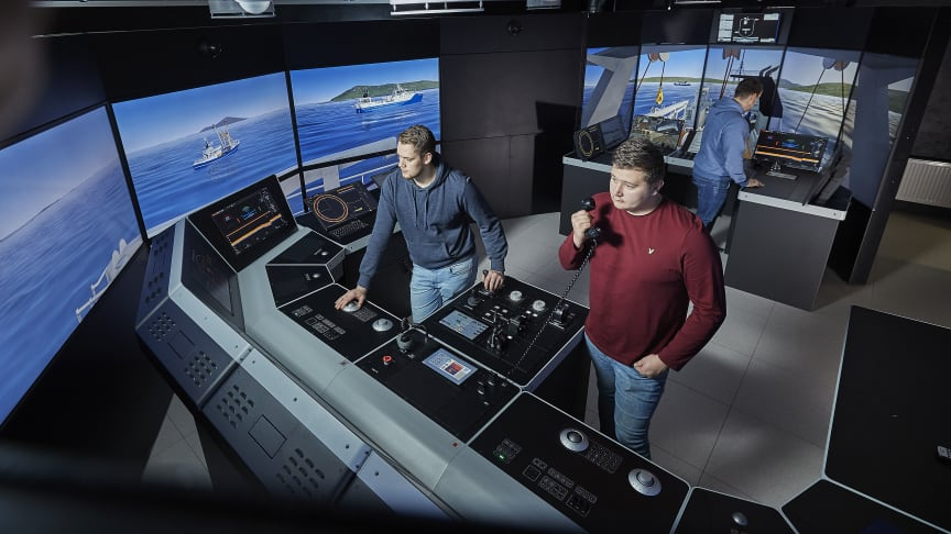 Students at Lofoten Vocational School will use the brand-new K-Sim Fishery simulator  to build competence that improves safety, efficiency and sustainability in fisheries
