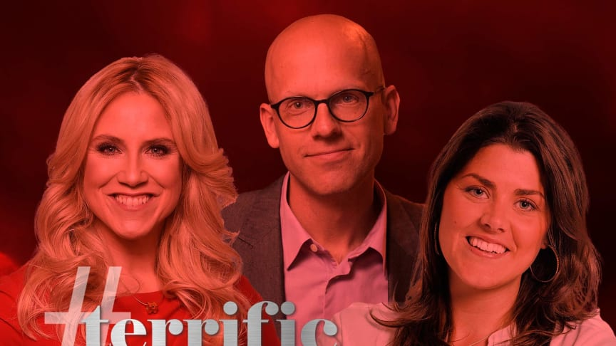 Andreas Ekström är talare i det första ordinarie avsnittet när succén TerrificTuesdays nu blir podcast.