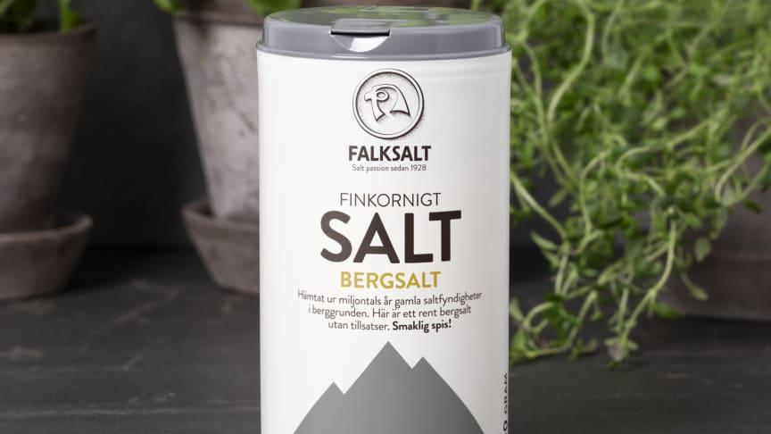 Nyhet från Falksalt: Finkornigt Bergsalt utan tillsatser