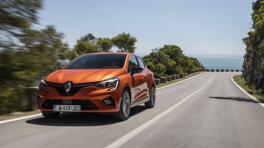 Den nye Clio skal være med til at holde momentrum for Renault og sælges fra uge 42 i Danmark