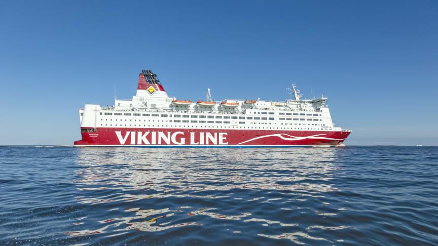 Viking Line reducerar trafiken ytterligare på grund av rådande läge