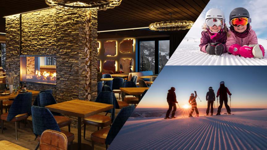 Varierande skidåkning för alla, boende med hög komfort, minnesvärda och hållbara fjällupplevelser: SkiStar presenterar nyheterna inför vintersäsongen 2021/22