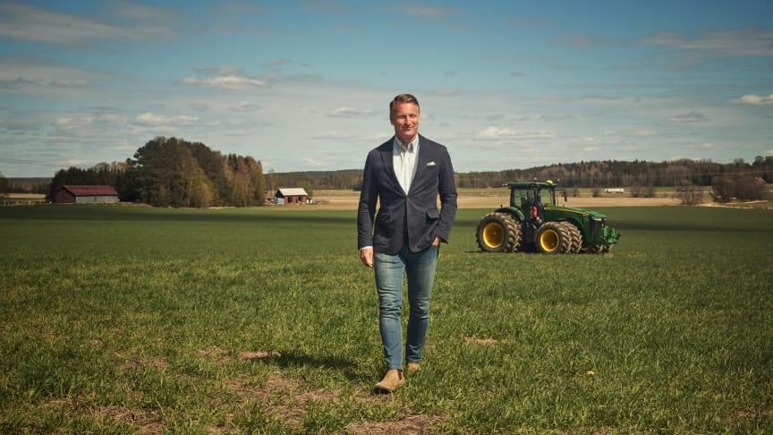 Christian Lenander, vd på Klaravik, kan se tillbaka på ett år då återbruket (och försäljningen) på Klaravik ökat med nära 40 procent.