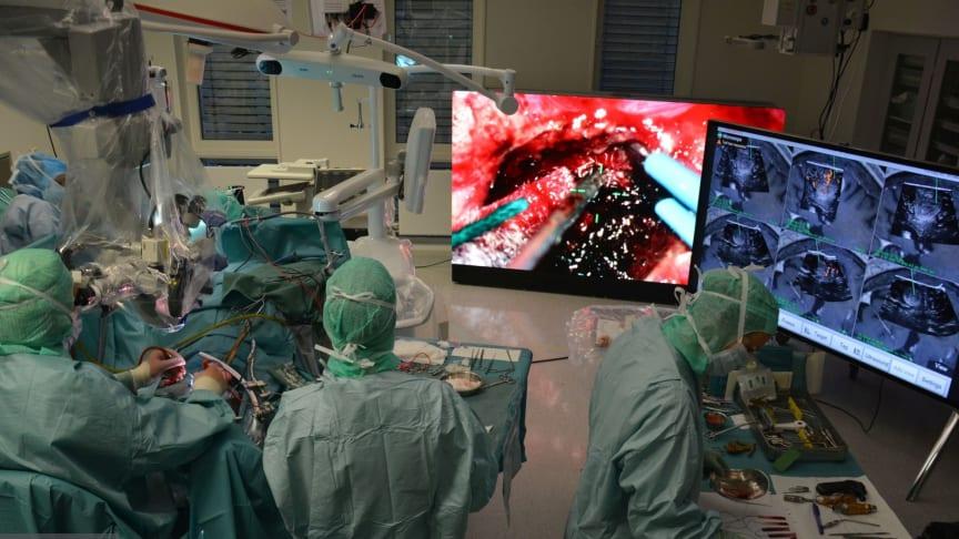 Fremtidens operasjonssal (bilde St. Olavs hospital)