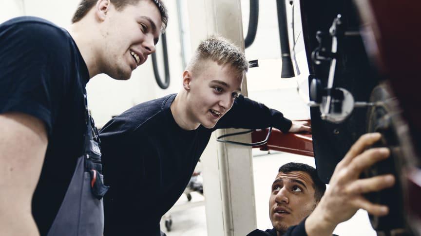 Volvo samler talenter på AutoVidencenter Fyn