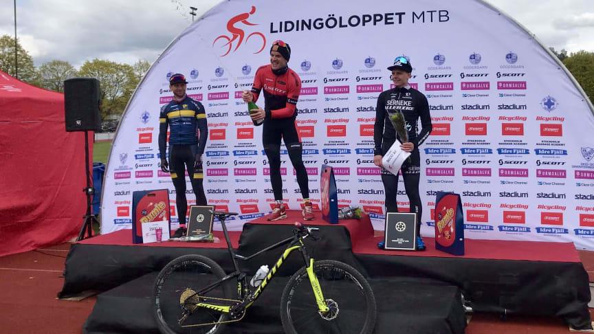 - Wengelin först till tre och Thelberg tog andra raka i Lidingöloppet MTB i en riktig cykelfest -