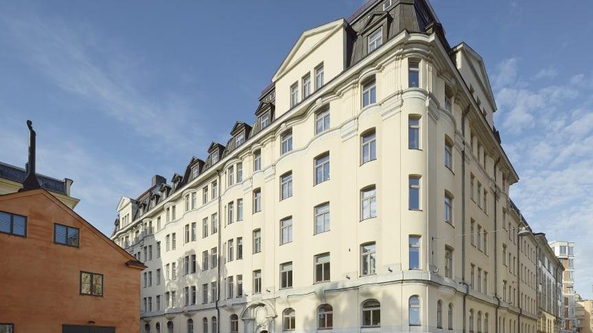 Fastigheten Blasieholmen 55, Hovslagargatan 3. Foto: Åke E:son Lindman