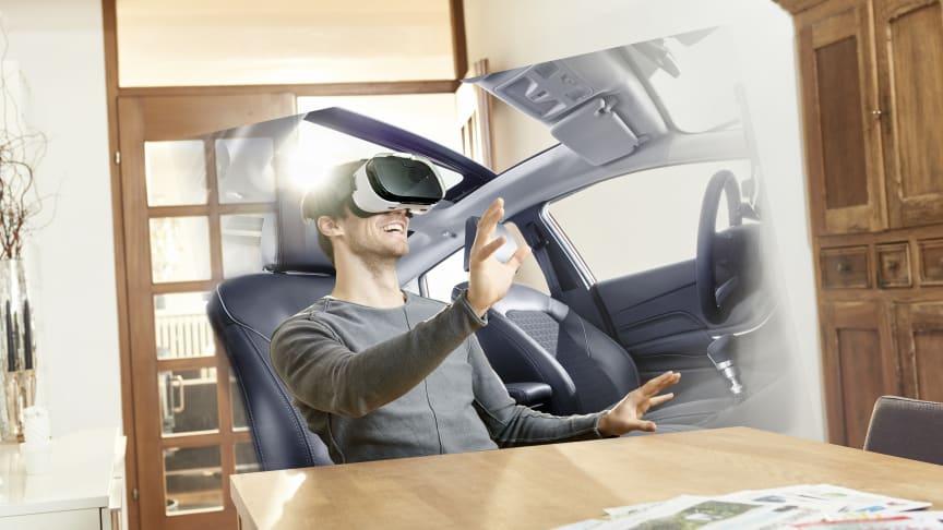Bruken av virtuell virkelighet (VR) vil totalt endre hvordan du prøvekjører og kjøper bil i fremtiden.