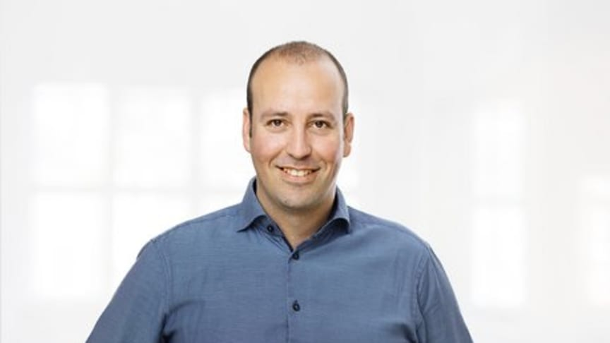 Chris Loos, chef för internationell samarbetshantering på Quentic