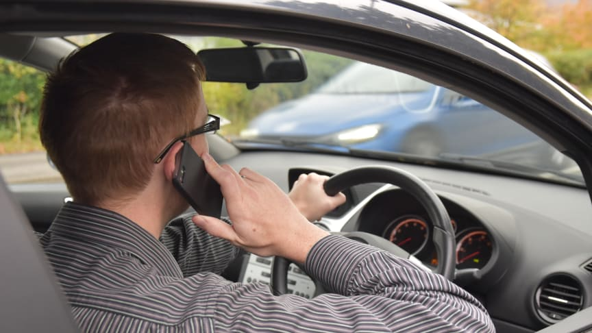 RAC research in 2017 revealed that 23% of drivers admit to using a handheld phone when driving and 40% said they did when in stationary traffic