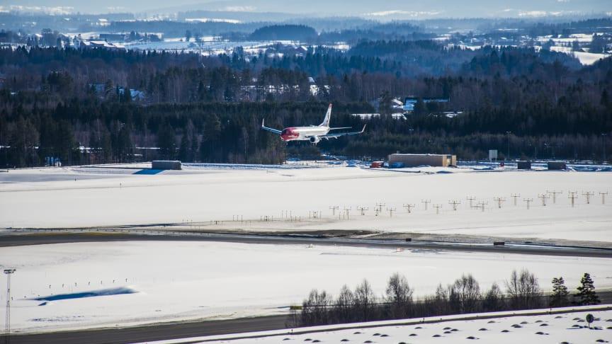 Fortsatt god passasjervekst for Norwegian i november