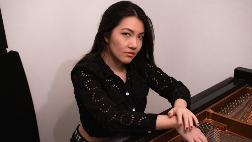 Mélodie Zhao, pianist och kompositör. Foto: Cadenza Zhao.