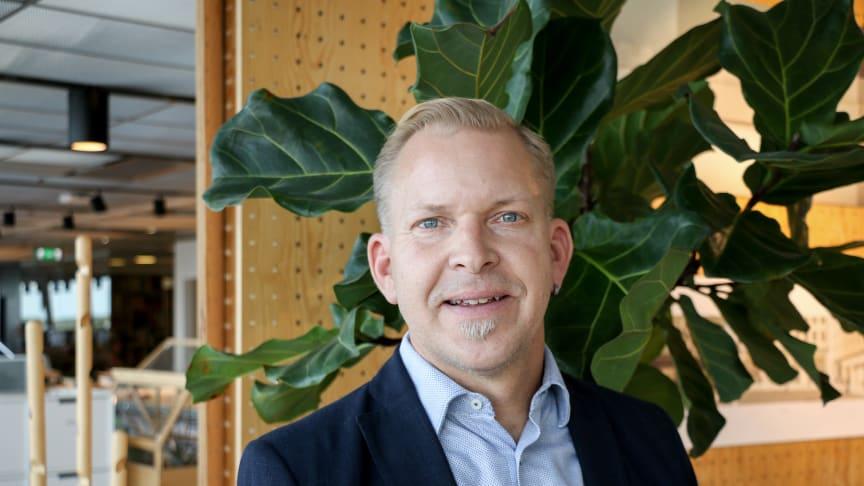 Niklas Svensson blir affärsområdeschef för Stadsutveckling på Tengbom.