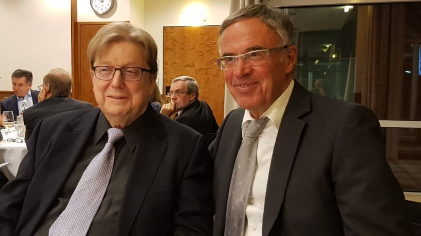 Von Knut Rutschmann (li) zu Wolfgang Oswald (re)