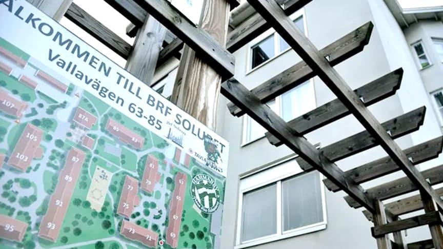 Brf Soluret väljer Byggmästargruppen för stambytet