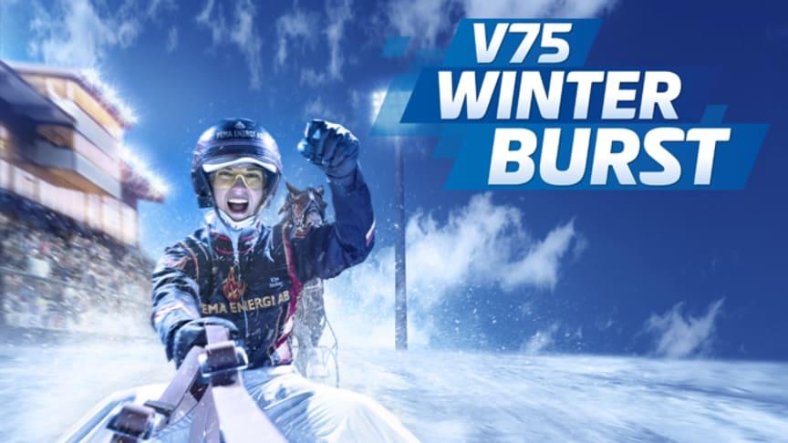 V75 Winter Burst med multijackpot på nyårsafton