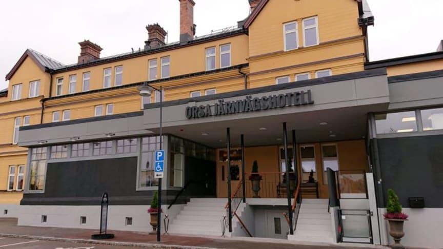 Anrika Järnvägshotellet i Orsa öppnade för 126 år sedan, nu är det totalrenoverat.