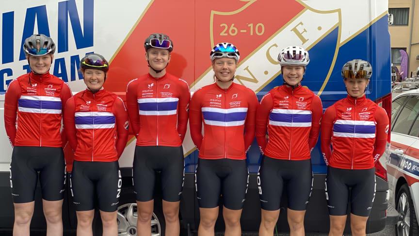 Sykling: MorgendagensHelter landslaget kvinner junior til Nederland