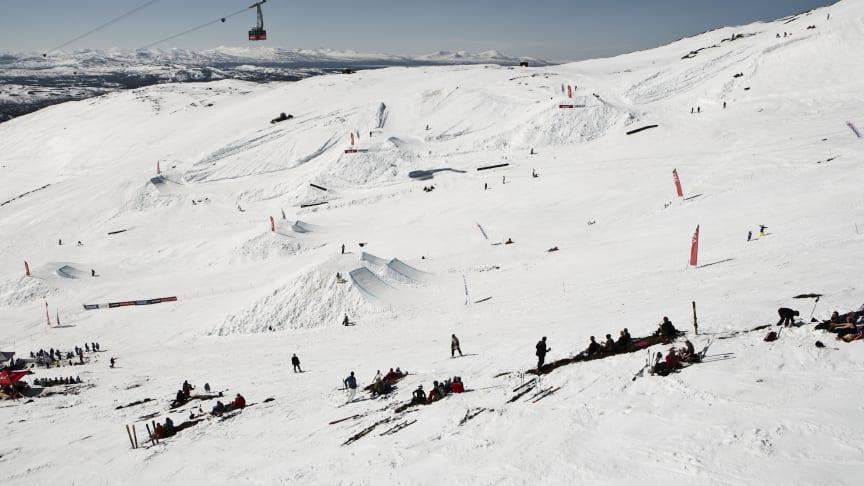 SkiStar Åre: Skidåkning med världseliten och stor fest på Åres säsongsavslutning