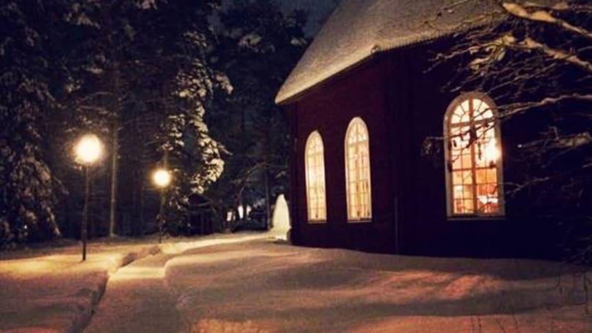 Jokkmokks gamla kyrka. Foto: Elena Veräjä.