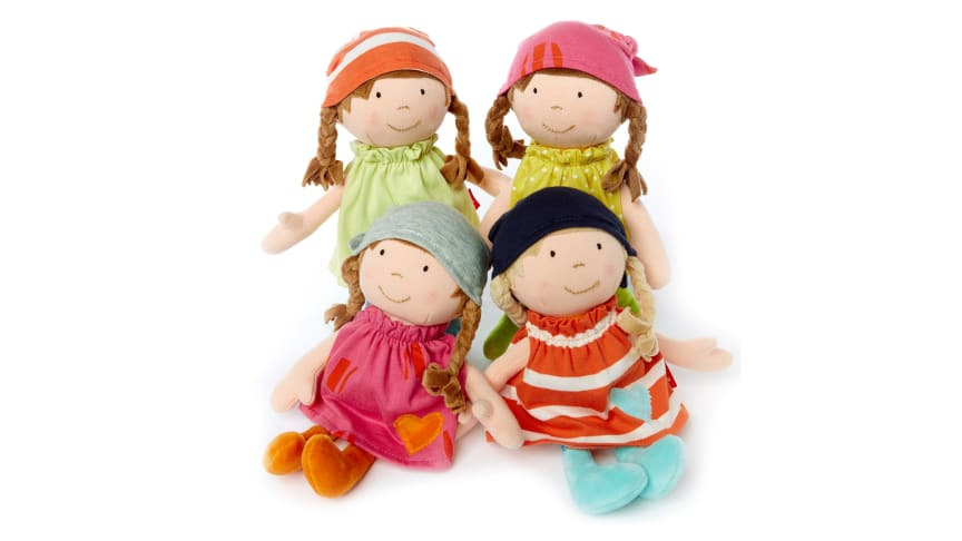Spielspaß für die Kleinsten: Stoffpuppen Brenda Bilipup