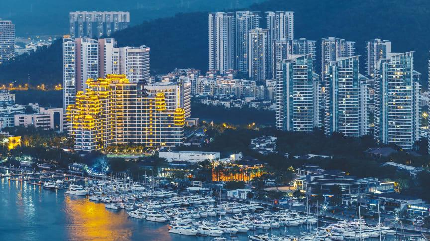 Haikou city at  the Chinese island, Hainan. Foto: Colourbox
