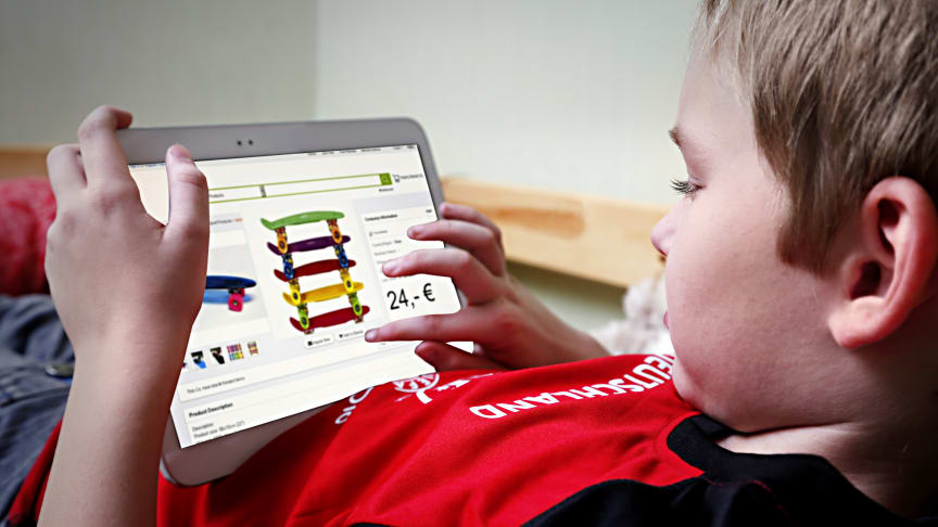 Aus Nutzern werden Kunden: Auch Kinder kaufen immer häufiger online ein