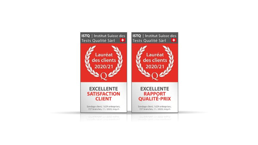 AutoScout24 remporte deux titres de Lauréat des clients du Moniteur suisse des branches