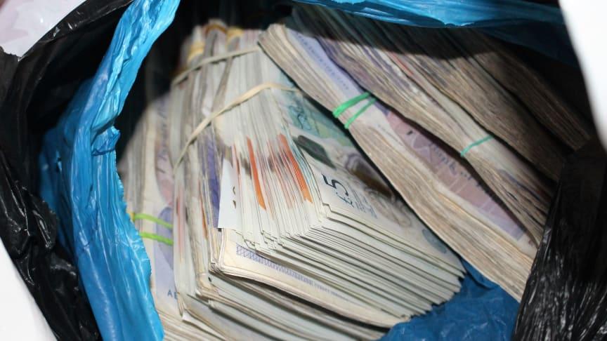 Cash found in Verdes' hotel room