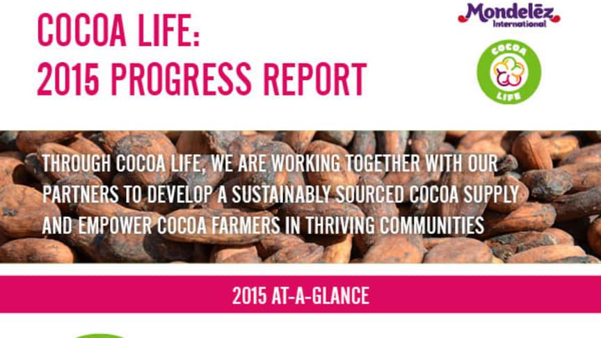 Cocoa Life, 2016 Progress Report, infographic