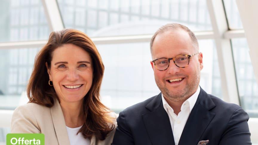 Anna Bergius och Jens Nilsson