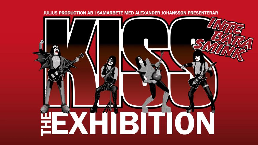 Unik utställning med orginalföremål från hela Kiss karriär. Nöjesteatern Malmö