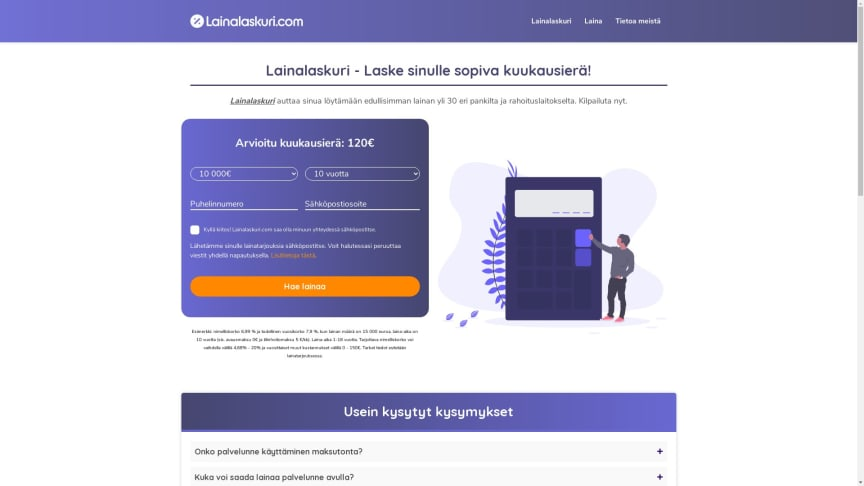 Lainalaskuri.com