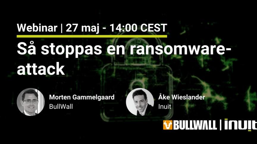 Så stoppas en ransomware-attack