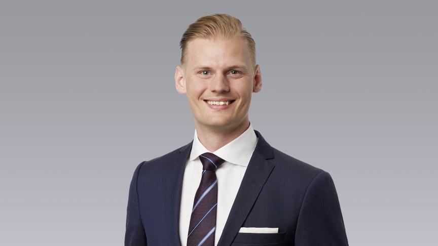 Colliers har rekryterat Gustav Björkman som Associate Director Leasing i Stockholm.