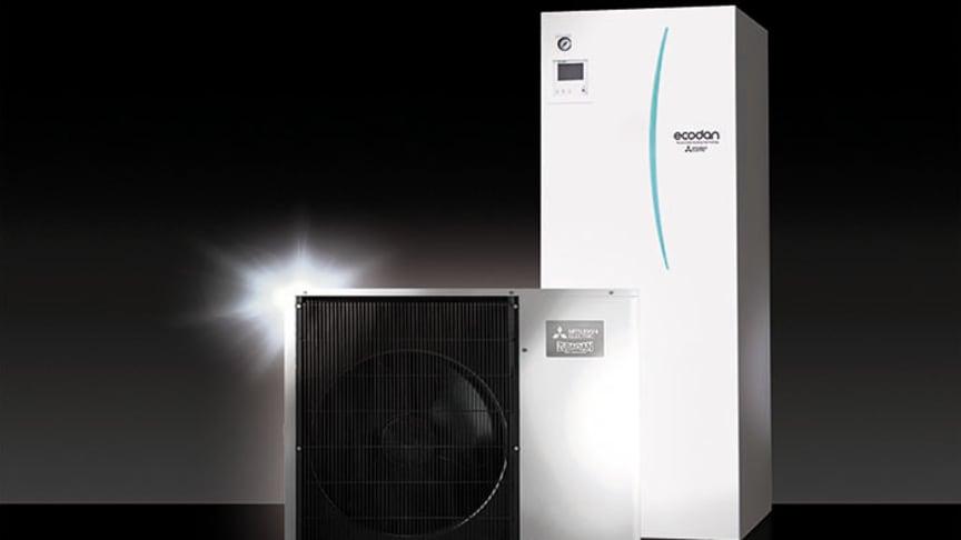 YAA - Nytt kraftpaket i snygg förpackning till Ecodan luft/vattenvärmepump