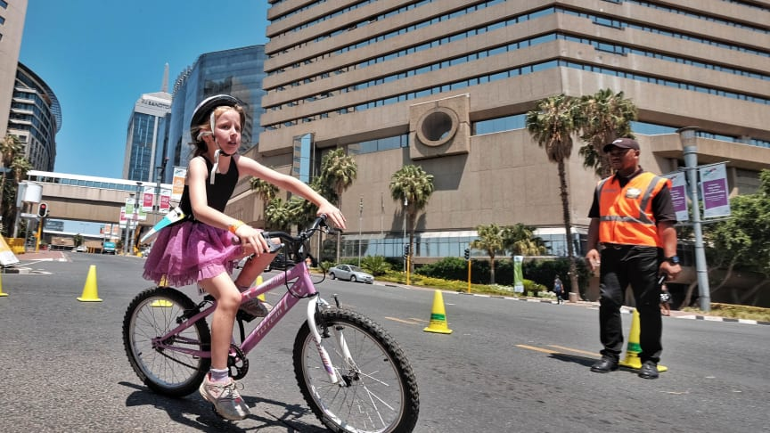 Kids take over the Sandton streets for a RunCycleRun