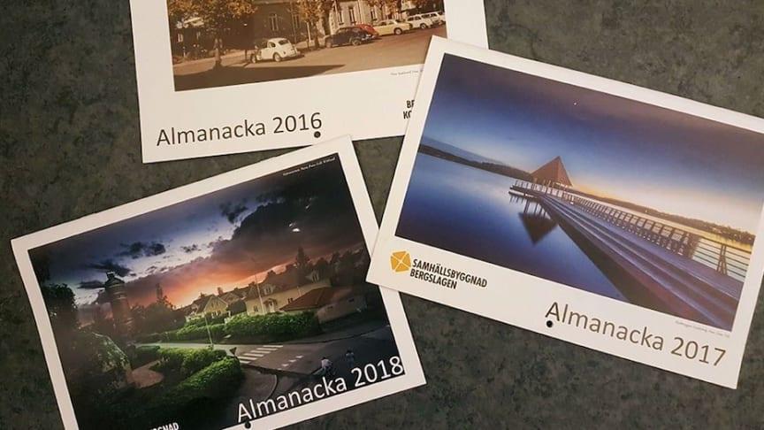 Samhällsbyggnad Bergslagen söker bilder till nästa års almanacka