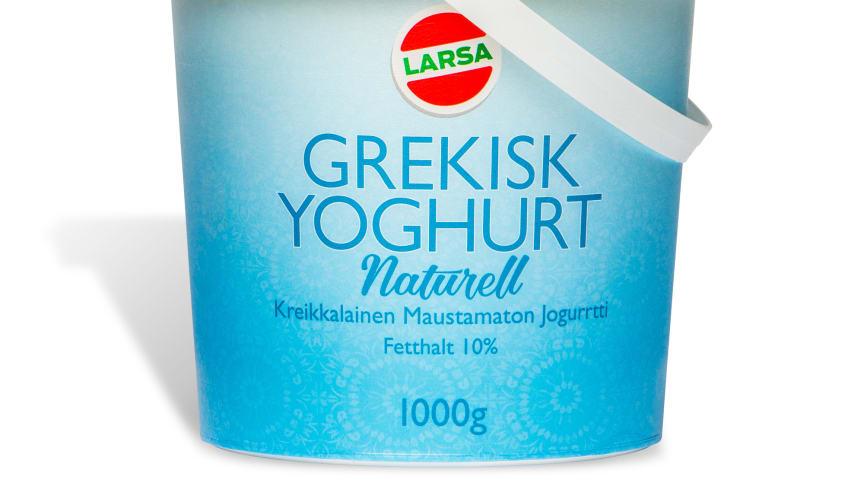 Nyhet! Turkisk & Grekisk Naturell yoghurt på Hemköp & Willys från v.8