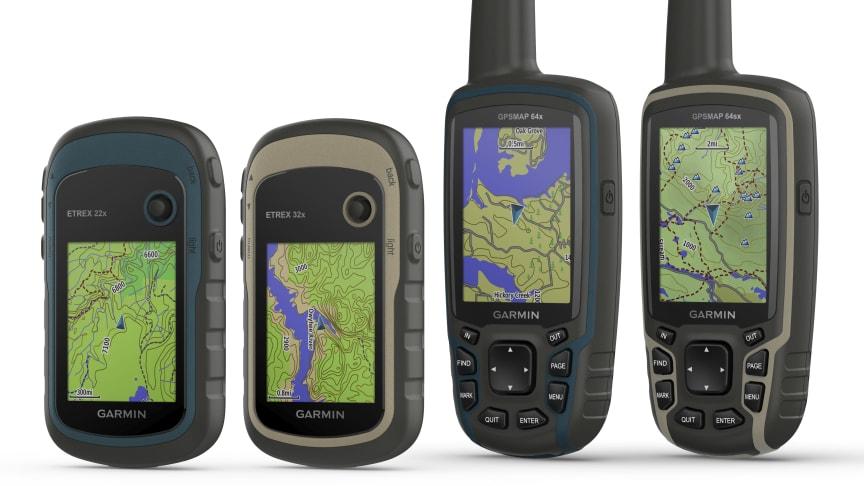 Garmin® presenterar uppgraderade funktioner för två av sina populära handburna serier