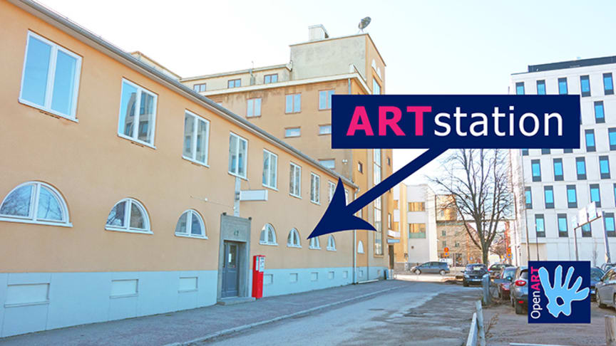 Drifting artwork finds a home at this year's OpenART in Örebro, Sweden