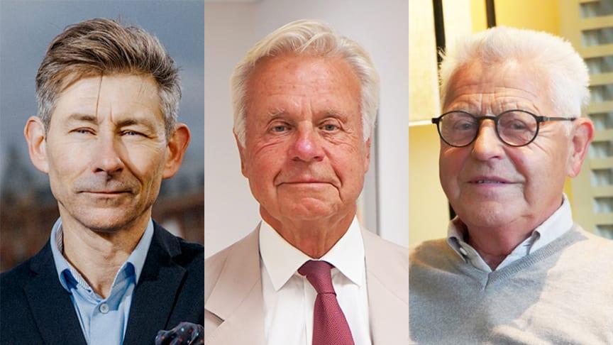 Jens Linderoth, analyschef på affärskonsulterna Navet, Hans Eliasson, ägare av Gullringsbo och Erik Paulsson, grundare av PEAB gästar senaste avsnittet av Svensk Byggtjänsts podcast Snåret.