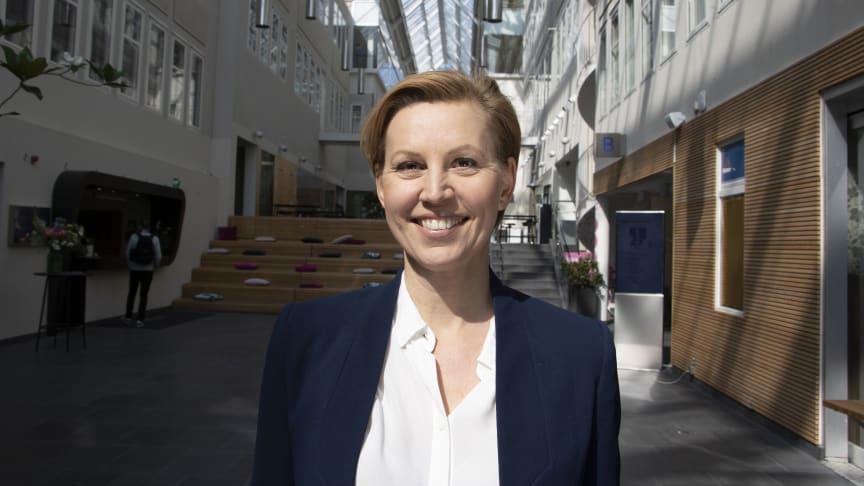 Helena Thybell, ny generalsekreterare för Rädda Barnen i Sverige