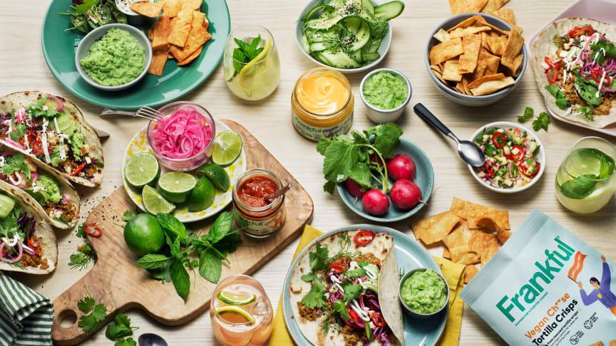 Ruoka mitä rakastat! Frankful on texmex-ruokaa isolla T:llä ja pienellä ilmastojäljellä
