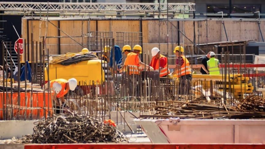 Ny avhandling om byggbranschens säkerhetsarbete