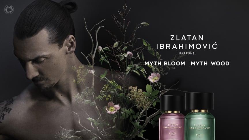 Zlatan Ibrahimović Parfums MYTH BLOOM & MYTH WOOD EdT
